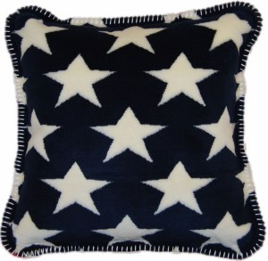"Denali Stars & Stripes Microplush Pillow 18""x18"" Multi"