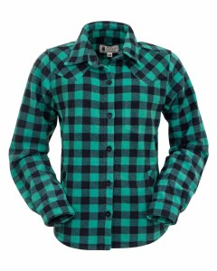 Outback Trading Company Ladies Big Shirt Medium Turquoise