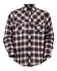 Outback Trading Company Rogan Performance Shirt  Large Brown