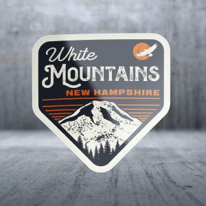 Sticker Pack GE Mountain Top Oranges Decal Large