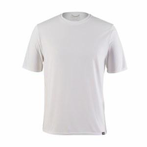 Patagonia Men's Capilene Cool Daily Shirt Large White