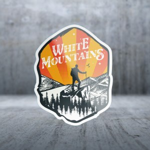 Sticker Pack New Hampshire - White Mountains Decal Large