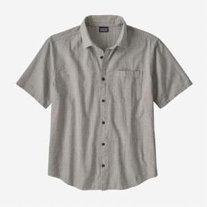 Patagonia M's Organic Cotton Slub Poplin Shirt M End On End Forge Grey