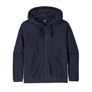 Patagonia Women's Organic Cotton French Terry Hoody M New Navy