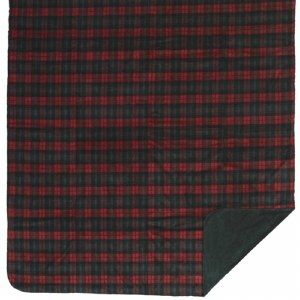 "Denali Classic Plaid Microplush Throw 60""x70"" Spruce"