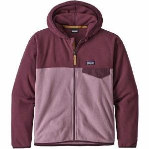 Patagonia Girls Micro D Snap T Jacket M Verbena Purple
