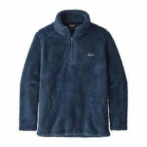Patagonia Boys' Los Gatos 1/4-Zip Fleece Medium Stone Blue