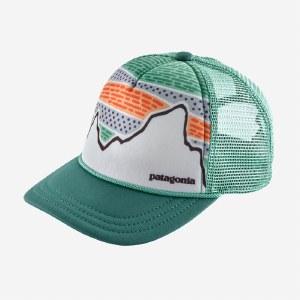 Patagonia K's Interstate Hat OS Solar Rays 73: Tasmanian Teal