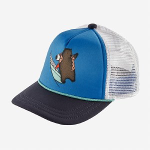 Patagonia K's Interstate Hat OS Surf Wombat: Navy Blue