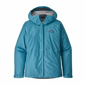 Patagonia Women's Torrentshell Jacket Medium Mako Blue