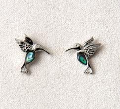 A.T. Storrs Dainty Hummingbird Earrings