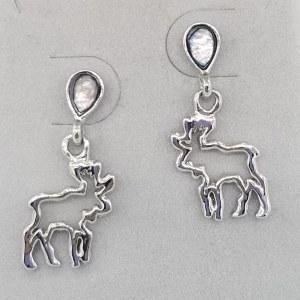 A.T. Storrs Moose Spirit Earrings