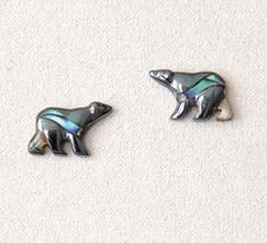 A.T. Storrs Bear Earrings