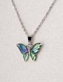 A.T. Storrs Butterfly Necklace