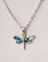 A.T. Storrs Dragonfly Necklace
