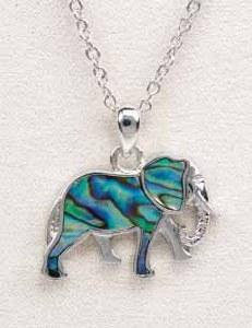 A.T. Storrs Elephant Necklace