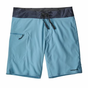 "Patagonia Men's Stretch Planing Boardshorts - 19"" 34 Break Up Blue"