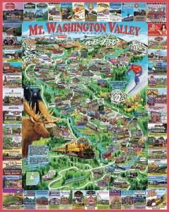 White Mountain Puzzles Mt. Washington Valley Puzzle 1000 Pieces