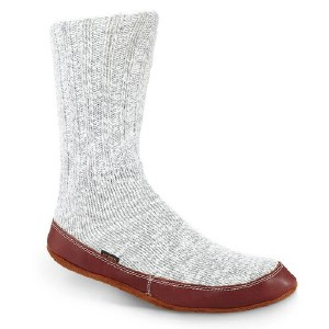 Acorn Original Slipper Sock XXS Light Gry Cotton