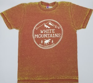 A.M. Associates New Hampshire Acid Wash S/S Tee Small Red