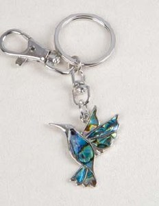 A.T. Storrs Hummingbird Key Chain