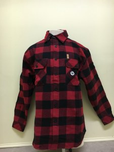 Northern Expedition Outback Brawney Flannel Shirt Large Red/Black Buffalo