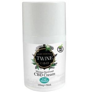 Twine CBD 250mg Topical Cream 50ml Cool Menthol