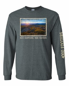 The Rugged Mill 4000 Footer L/S Tee XS Charcoal Heather