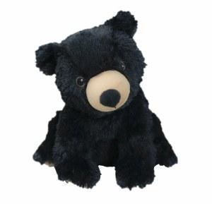 Warmies Cozy Plush Black Bear Full Size Black Bear