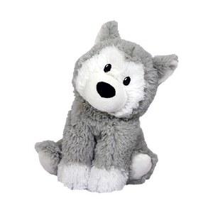 Warmies Cozy Plush Husky Full Size Huskey