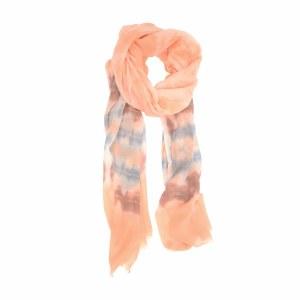 Joy Susan Tie Dye Scarf 90x180cm Peach