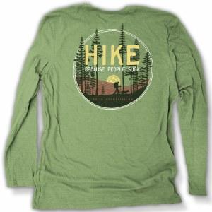 Duck Co. Get Away Hike L/S Tee X-Small Heather Basil