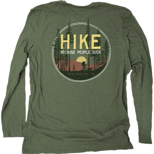 Duck Co. Get Away Hike L/S Tee XS Heather Forest