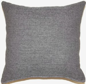 Creative Home Furnishings Grandstand Pillow 17x17 Grey