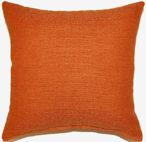 Creative Home Furnishings Grandstand Pillow 17x17 Orange