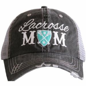 KATYDID Lacrosse Mom Trucker Hat One Size Grey