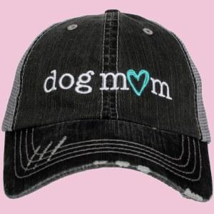 KATYDID Dog Mom Trucker Hat One Size Grey