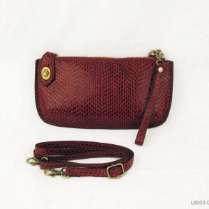 Joy Susan Python Mini Cross Wristlet Clutch Clutch Red Buffalo Plaid