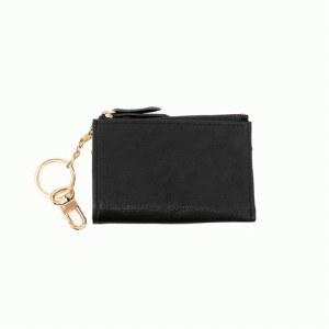 Joy Susan Keychain Cardholder  Black