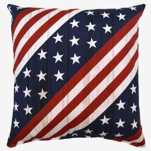 Creative Home Furnishings Major Pillow 17x17 Americana
