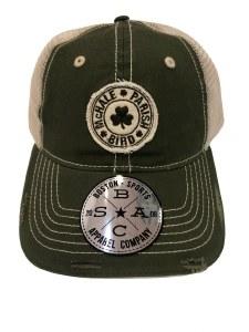 The Boston Sports Apparel McHale, Parrish, Bird Trucker Hat One Size Green