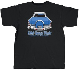 Old Guys Rule Spare Tire Pocket S/S Tee M Black