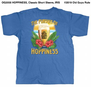 Old Guys Rule Hoppieness S/S T M Iris