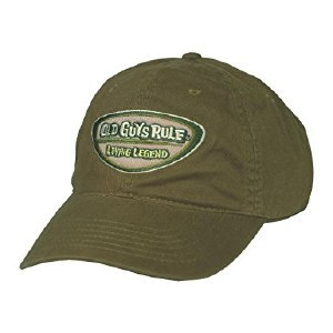 Old Guys Rule Legend Badge Cap One Size City Green