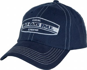 Old Guys Rule Local Legend Cap One Size Navy