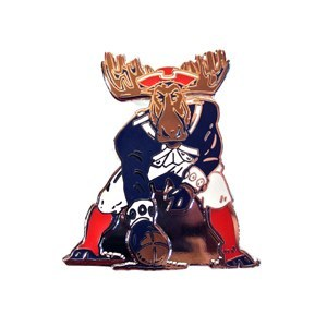 Woods & Sea Minute Moose Pin No Size Minute Moose