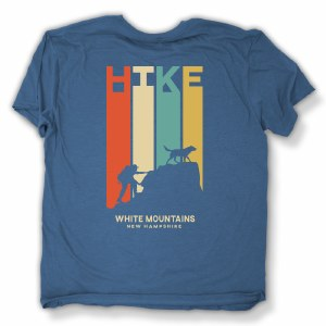 Duck Co. Retro Hike S/S Tee L Heather Royal