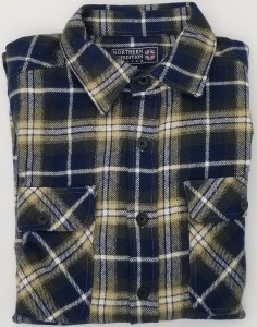 Northern Expedition Outback Brawney Flannel Shirt Medium Beehive Plaid