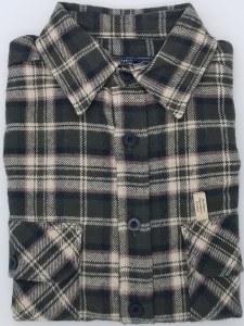 Northern Expedition Outback Brawney Flannel Shirt Medium Juniper Plaid