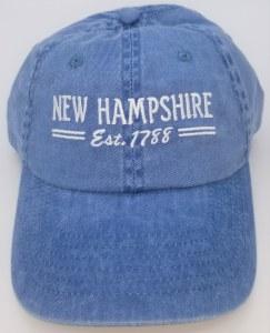 Royal Resortwear New Hampshire Established 1788 Ball Cap One Size Blue